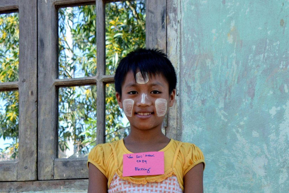CHILD'S NAME: Van Sui Mawi CHILD'S NUMBER: 9039 CHILD'S ORPHANAGE: Blessing CHILD'S BIRTHDAY:   11/26/2007