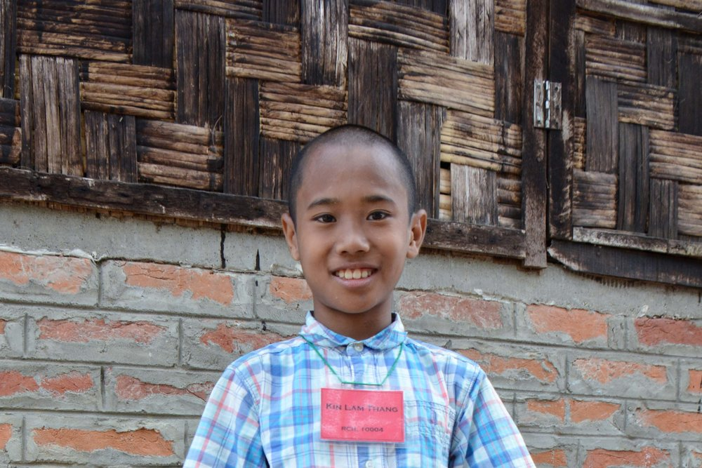 CHILD'S NAME: Kin Lam Thang CHILD'S NUMBER: 10004 CHILD'S ORPHANAGE: Rebeccamy's CHILD'S BIRTHDAY:  11/11/2006