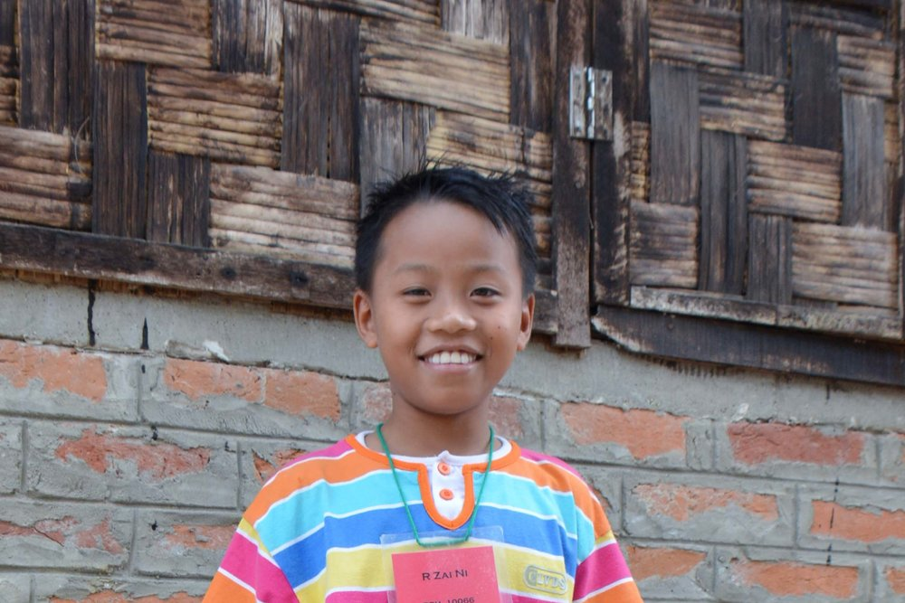 CHILD'S NAME: R Zar Ni CHILD'S NUMBER: 10066 CHILD'S ORPHANAGE: Rebeccamy's CHILD'S BIRTHDAY:  2/10/2007