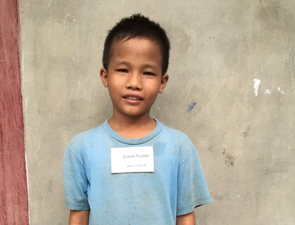 CHILD'S NAME: Cung Tlung CHILD'S NUMBER: 11010 CHILD'S ORPHANAGE: Beaulah CHILD'S BIRTHDAY:   6/4/2003