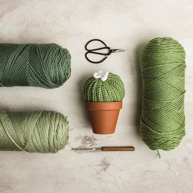 I can't get enough of this color combo. It's just too perfect for cacti. 🌵 Sometimes the right color combo just sparks inspiration in a project. 💭 I mean, look at that little cactus ball. Are you faux real!? 🤩 • • 📸: @ramonrgomez