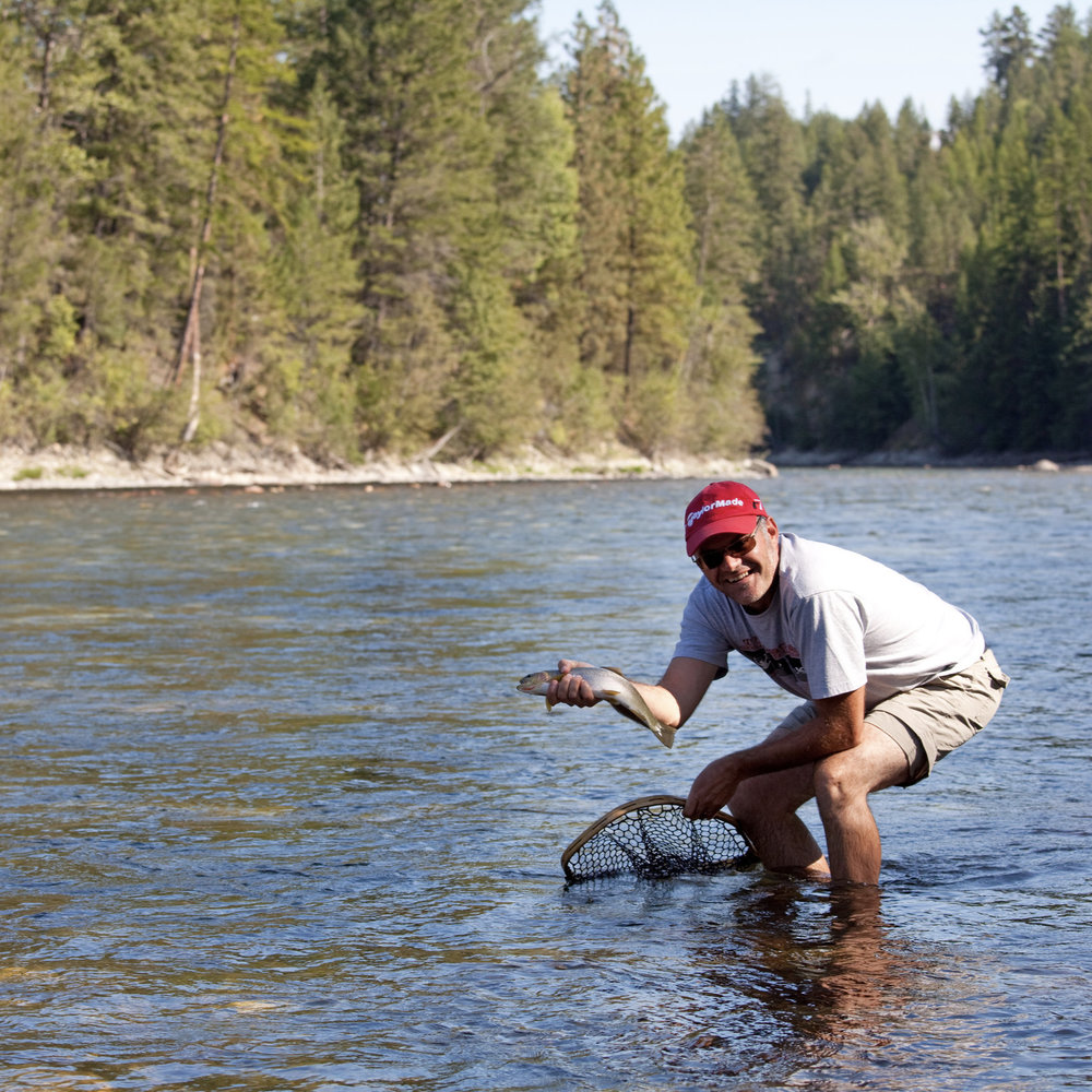 Photo by  Andrew Penner  | Fishing on St. Mary River