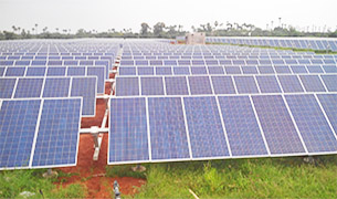 Karvy Solar Power, Telangana, India  Single Axis Tracker  22.5 MWp