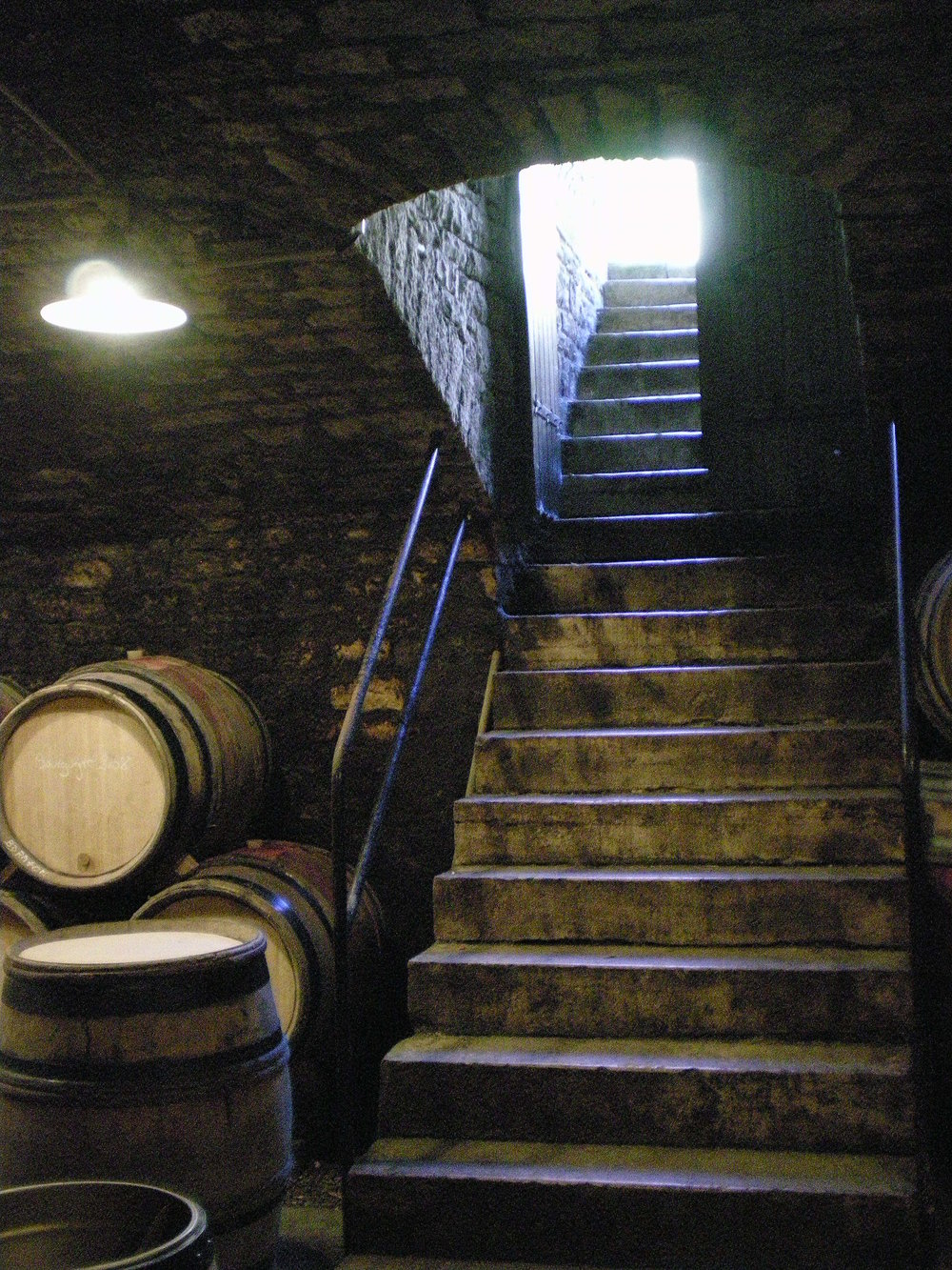 Descendre dans les caves, découvrir des trésors,  déguster des vins effervescents inimitables,  vivre une expérience inoubliable, et repartir avec des étoiles plein les yeux... C'est la magie de la Champagne et de son champagne.  *****  Descend into the cellars, discover their treasures, taste inimitable sparkling wines, like unforgettable experience, and leave with stars in your eyes... This is the magic of Champagne the place and champagne the product.