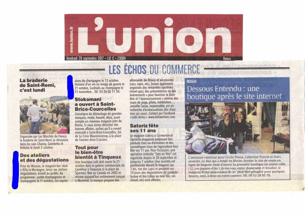L'union 10/2017