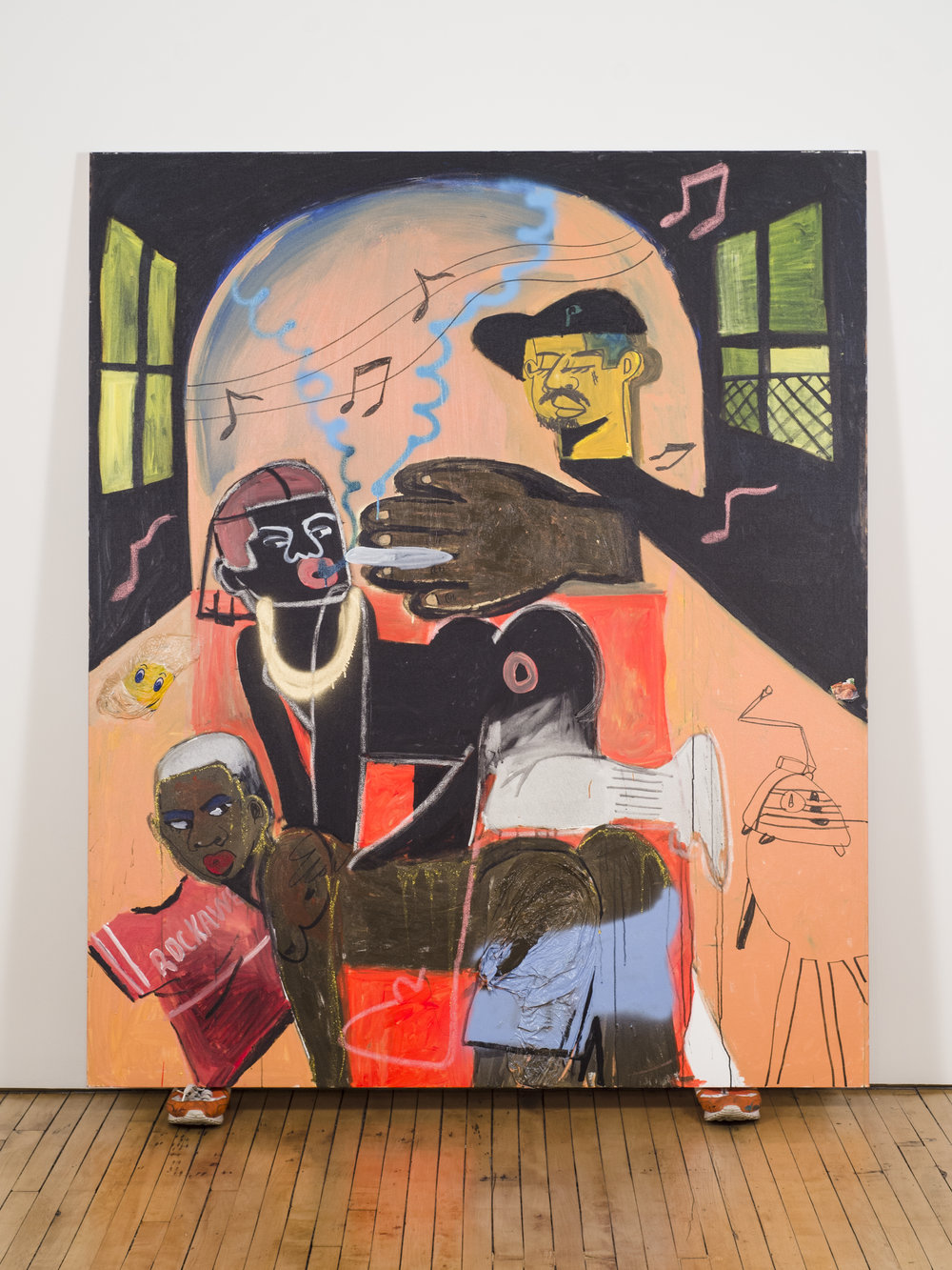 3 Sum , 2016 by Jonathan Chase  Courtesy of Fleisher/Ollman Gallery