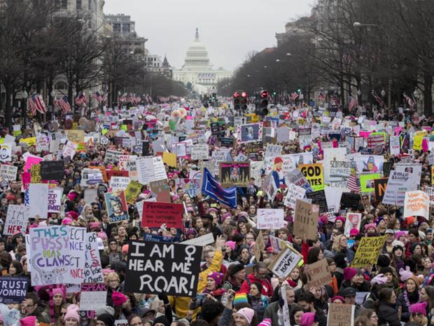 2017 Women's March on Washington via Independent.co.uk