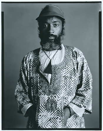 David Hammons photographed on September 2, 1980, in New York City. ©TIMOTHY GREENFIELD-SANDERS, ALL RIGHTS RESERVED/PORTRAIT COURTESY THE PHOTOGRAPHER