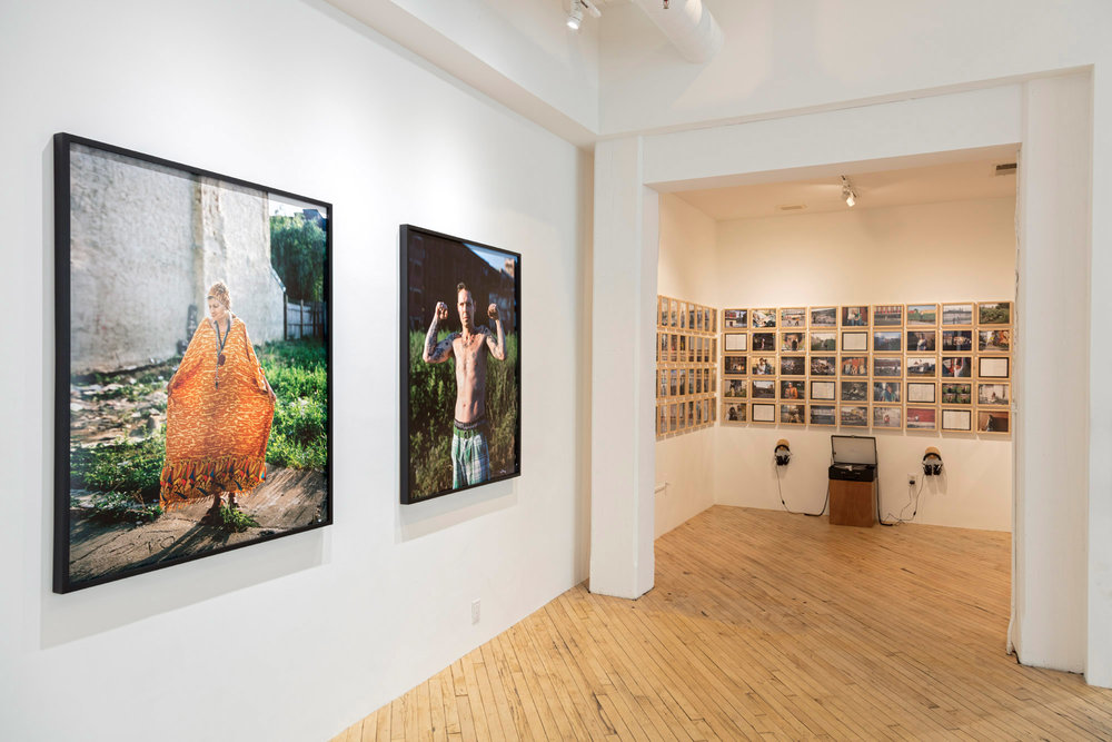 Kensington Blues exhibition at Savery Gallery, Photo courtesy of Jeffrey Stockbridge