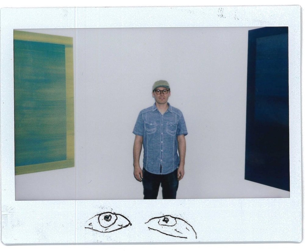@@      Patrick Maguire  between things his show at Marginal Utility, A Mind in a Field of Time Web: http://patrickmaguire.net/   IG: @patrick_maguire