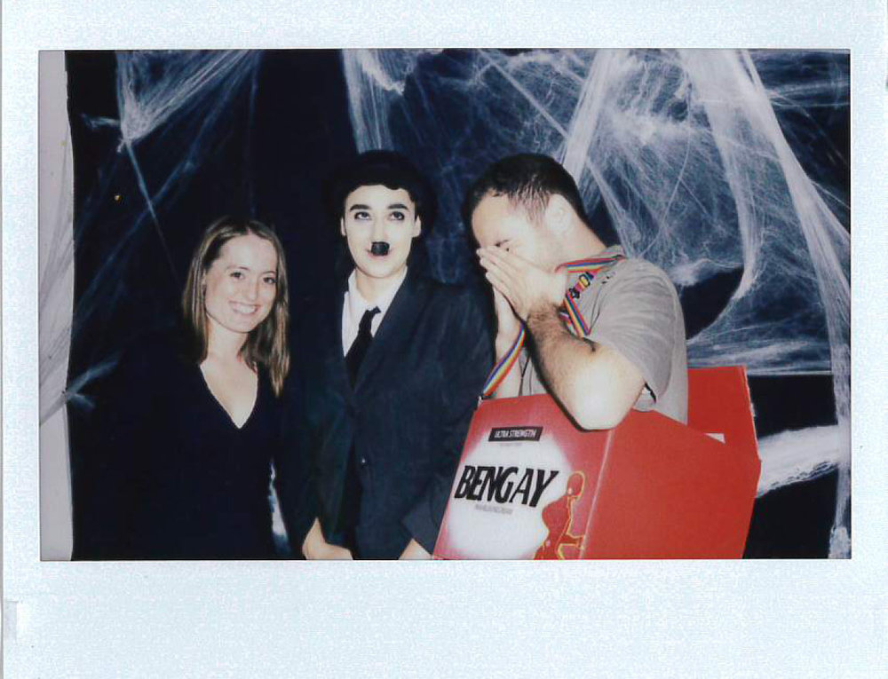 Kerry Bickford from Philadelphia Contemporary, Gina Austin as Chapman, and Ben Palevsky