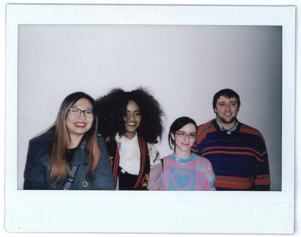 One day, I'll write sounds for each person instead of handles. Artists Autumn Veggimon @veggiemon, Jackie R. @catticfanatic, and Kevin Rose @doctakevorkian
