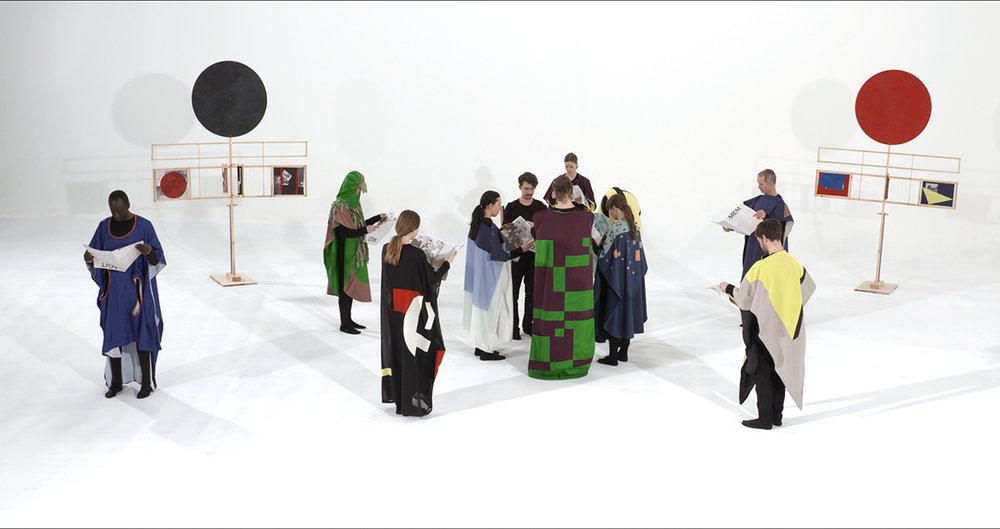 Yvette Brackman, AGIT MEM, 2016, video still