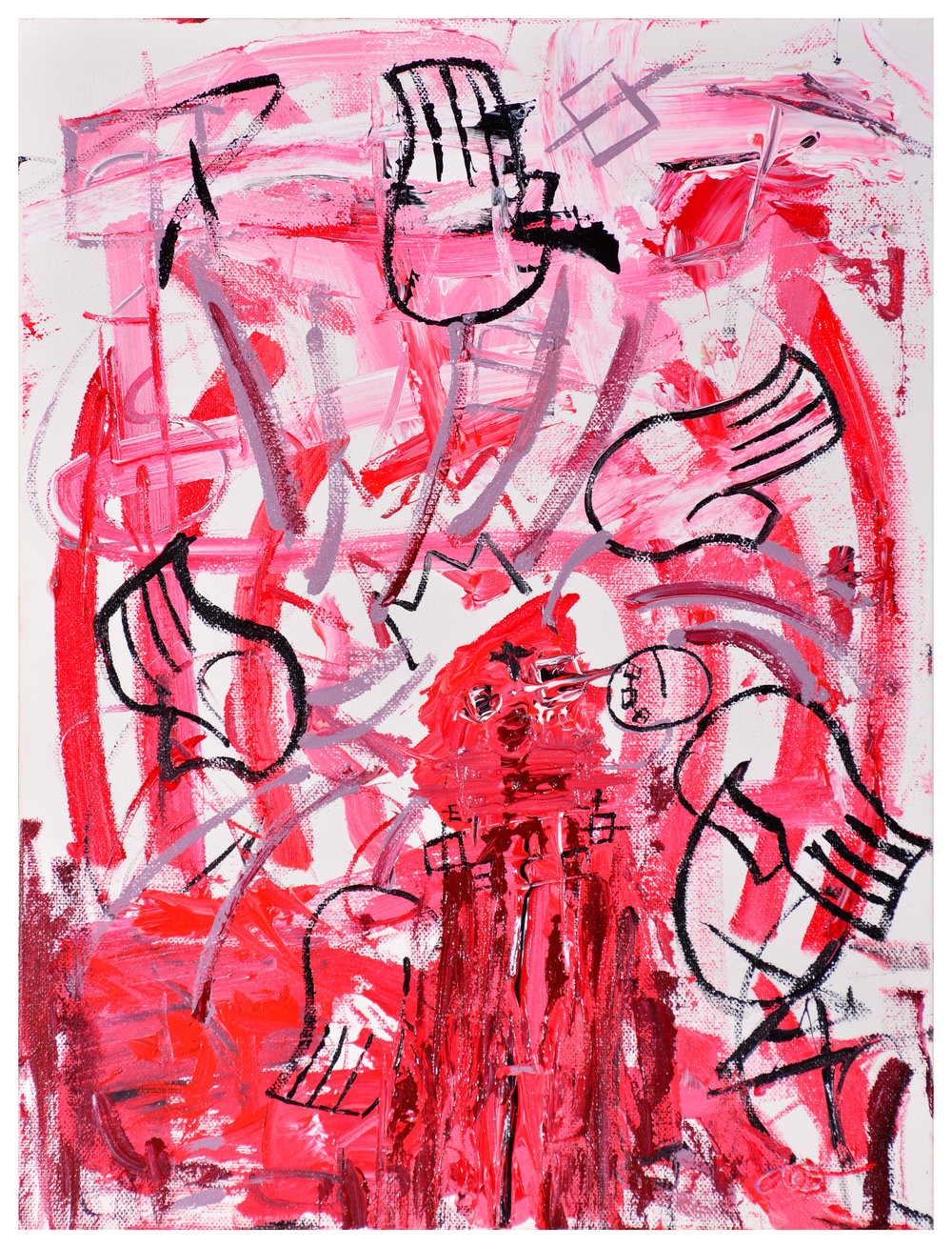 Bleeding Heart IV - Red Hands
