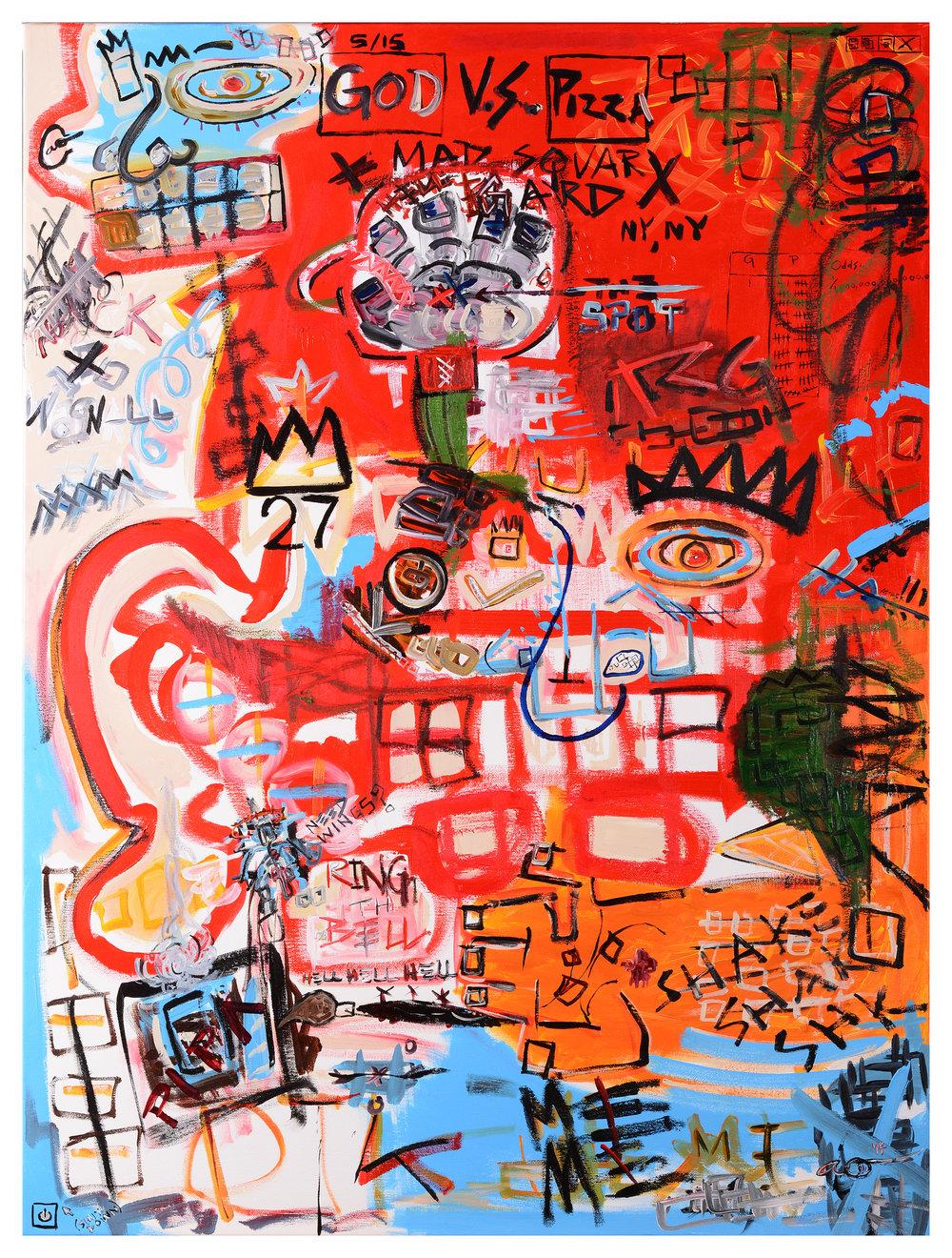 Self-Portrait IV - Red Man
