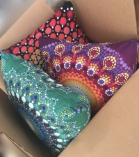 Pillows from Red Bubble