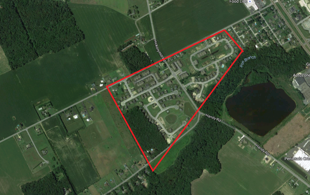 Deleware Subdivisions | Acquisition Loan | $1,750,000