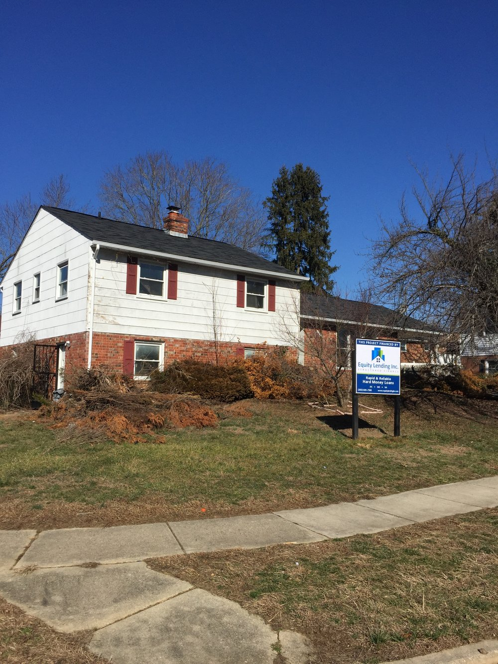 Upper Marlboro MD | Acquisition/Construction Loan | $180,000