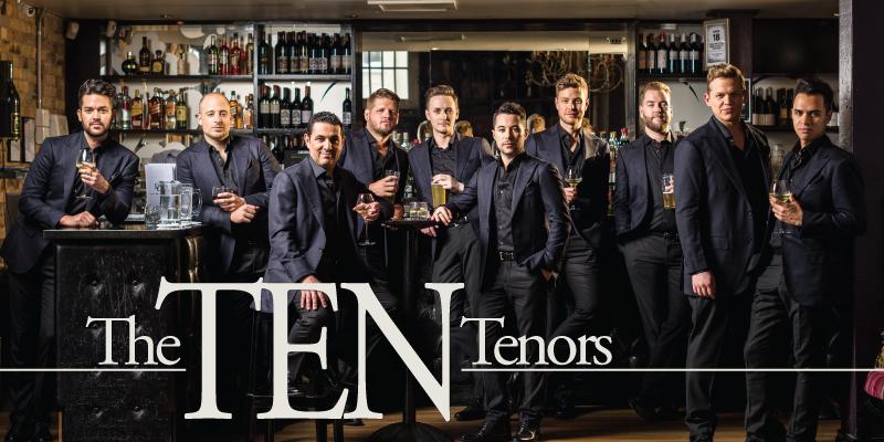 THE TEN TENORS REDDING CIVIC AUDITORIUM