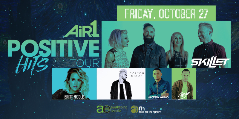 Air1 Positive Hits Tour Redding