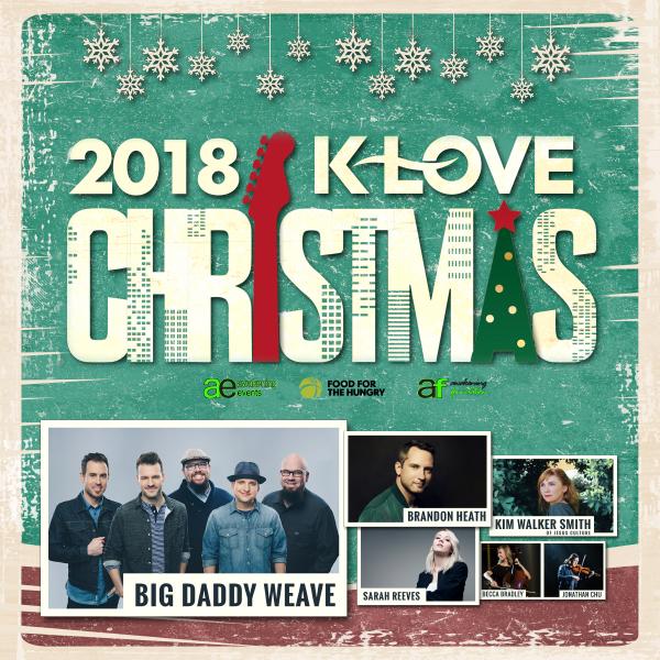 Klove Christmas Radio.Klove Christmas Tour Redding Civic
