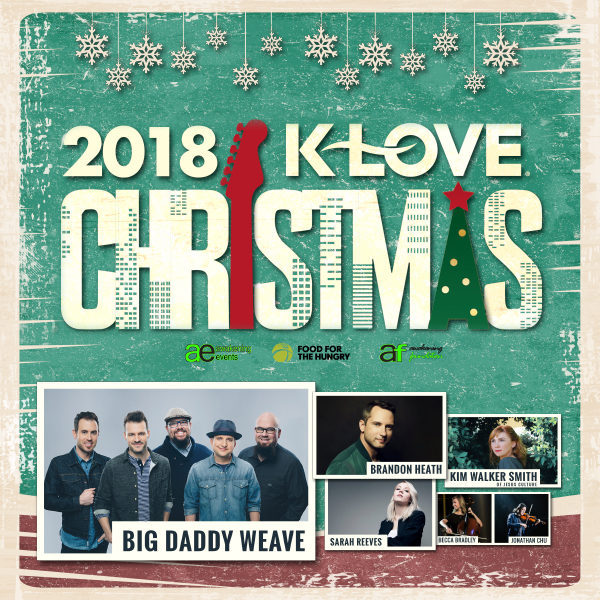 Klove Christmas Tour.Klove Christmas Tour Redding Civic