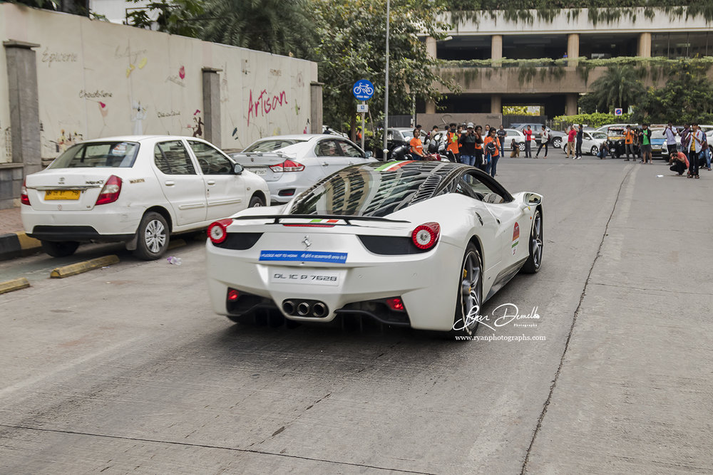 Ferrari 70th Anniversary Rally, Mumbai