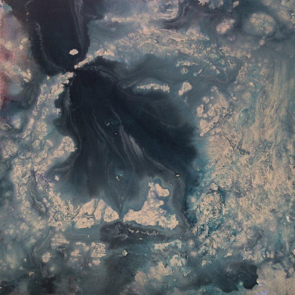 Lover's Unit, 24 x 24, Acrylic on Canvas, 2015