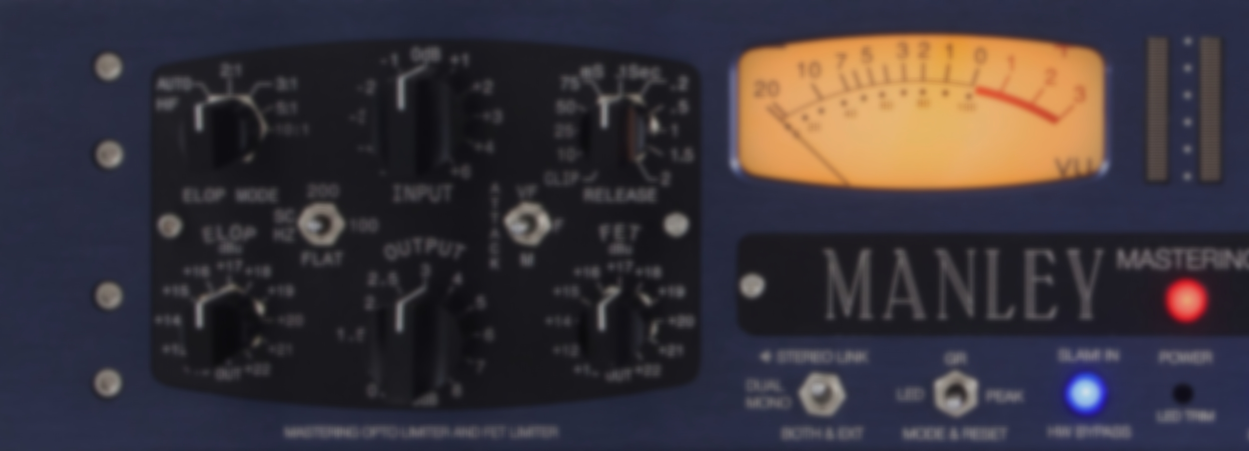 Manley Slam Stereo Limiter And Micpre Laboratories Inc Audio Vu Meter Mono Circuit Mmslam Header