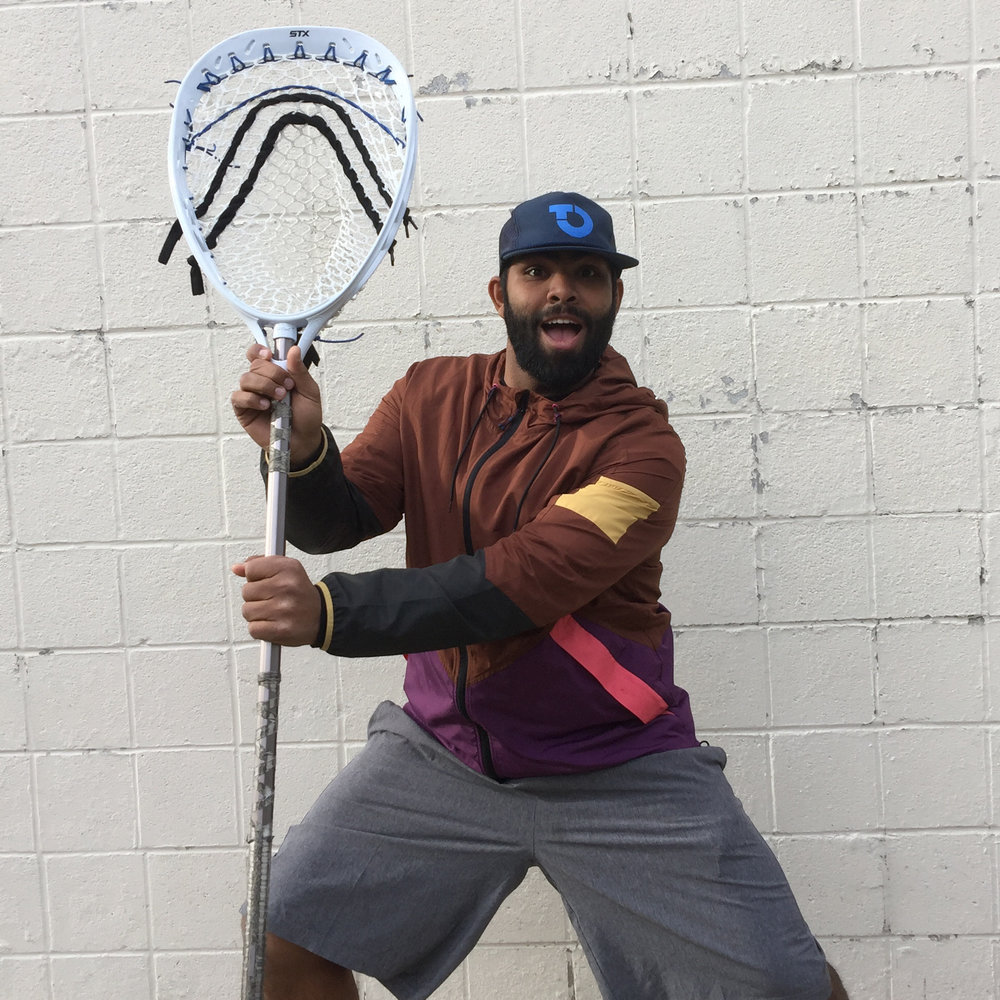 Ohio Machine goalie Ronnie Fernando, the newest contributer at Foundation Lacrosse and the Dave Page Goalie School.