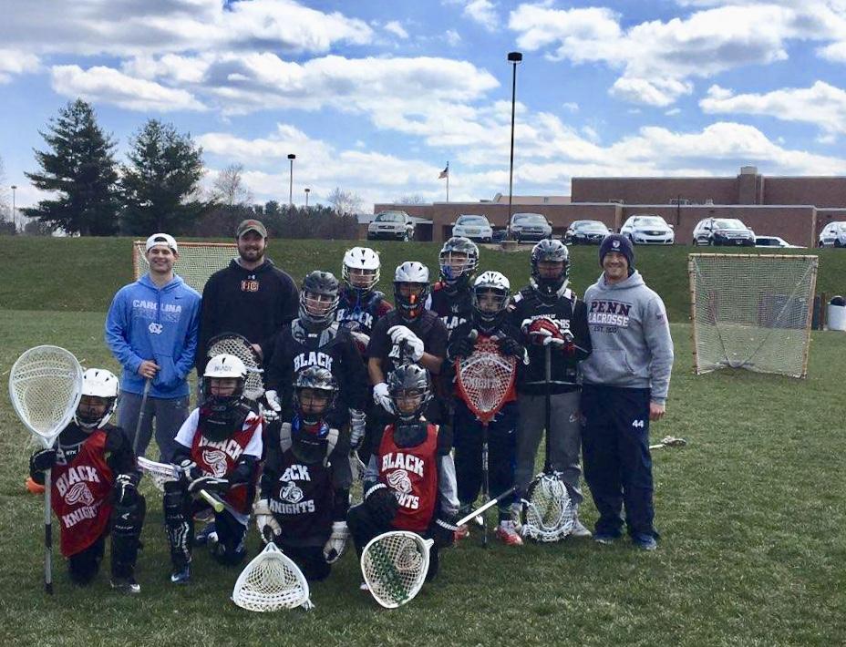 Hempfield Black Knights youth clinic Lancaster, PA (April 2018)