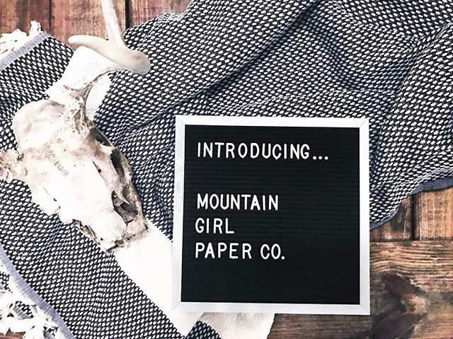 Cats out of the bag 🙊 So excited to announce the start of Mountain Girl Paper Company - a new venture @aceofheartx and I have been working on these past couple of weeks. Vail Valley postcards coming atchya soon and more to come. Give @mountaingirlpaperco a follow to stay tuned and see what we're up to!! 🌲💛🍂