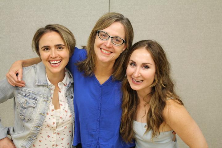 Ashley Serrao, Catherine Haun, Rebekah Wiggins  Daniel Williams photo