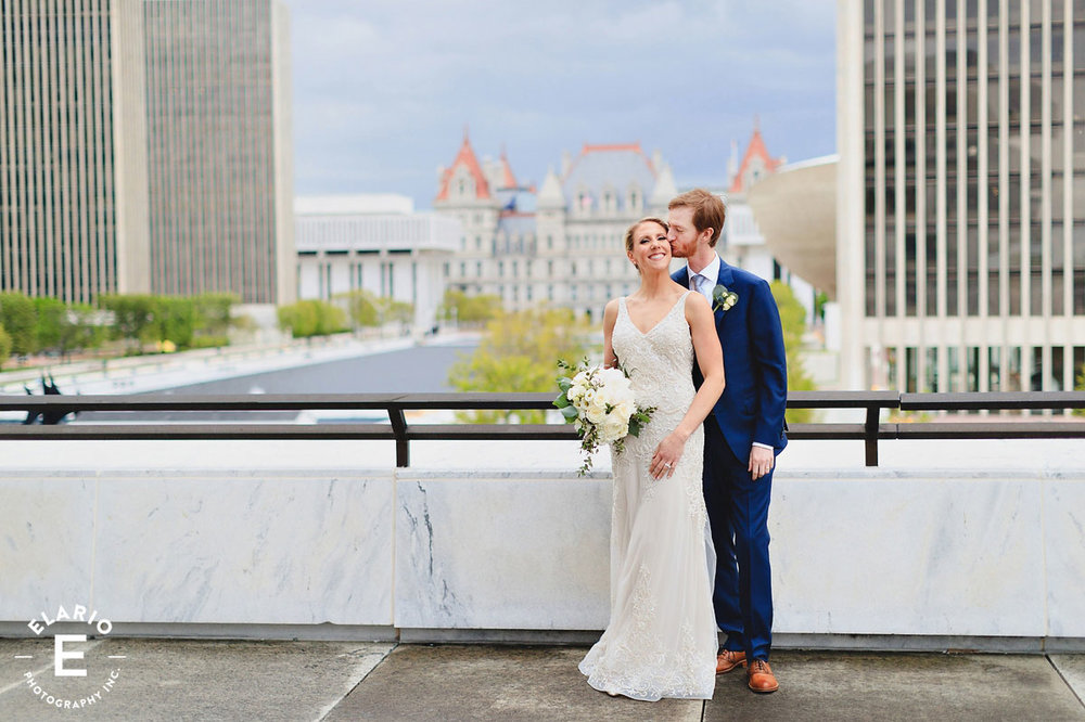 Laura and Greg - NYS Museum - Photos by Elario Photography