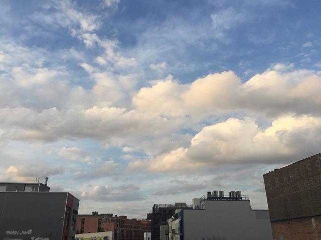 crazy clouds // brooklyn, ny