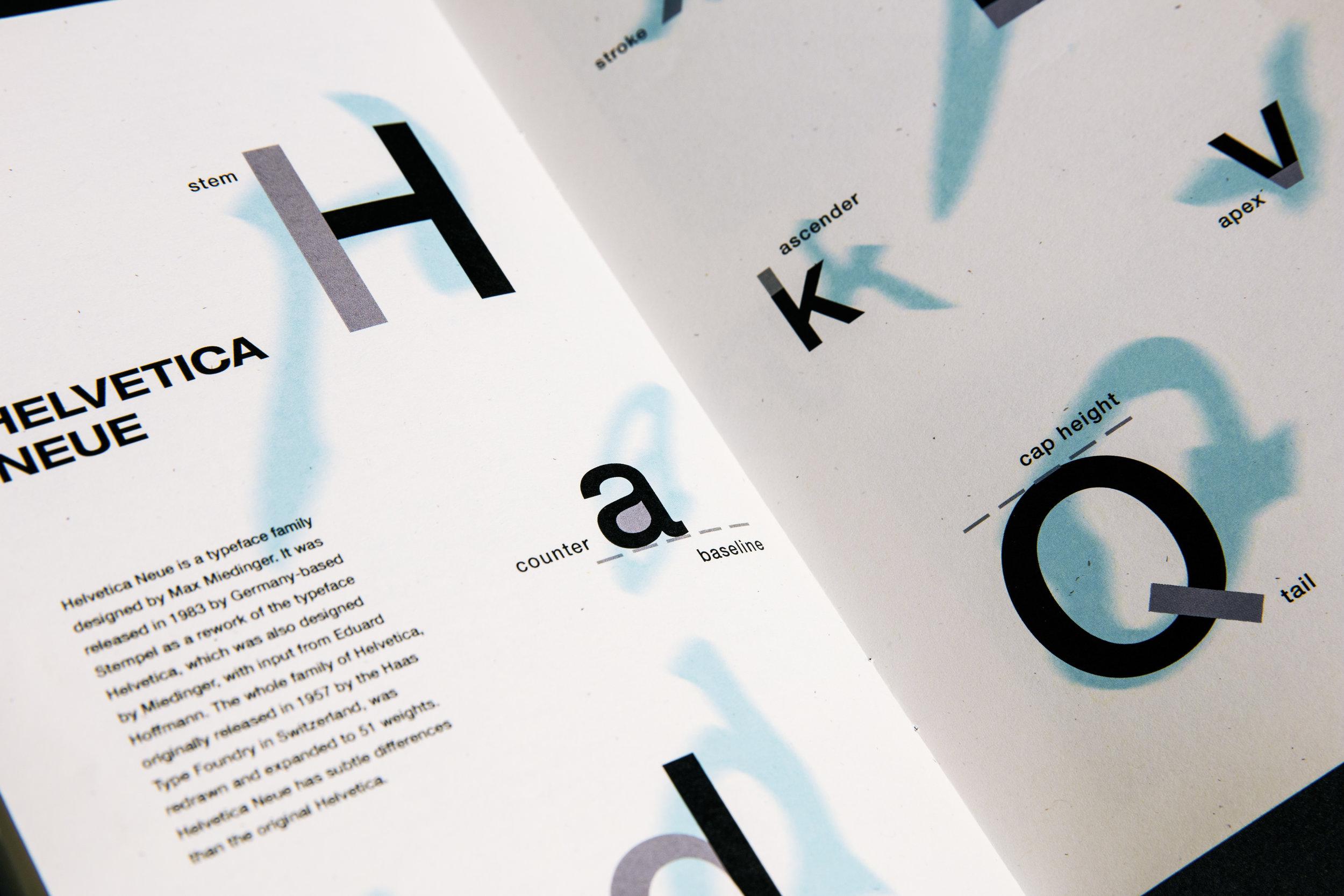 Typography Zine Defne Kaynak