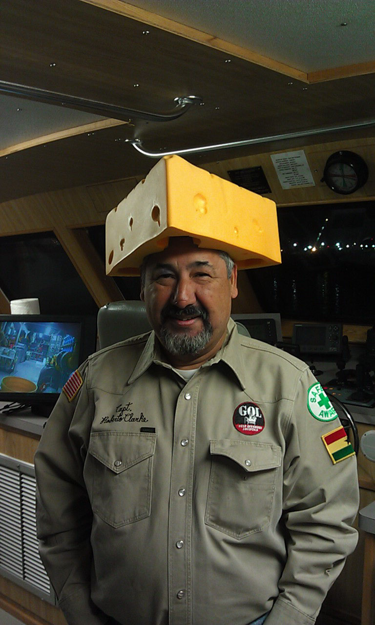 Fellow captain from Texas wanted a cheesehead