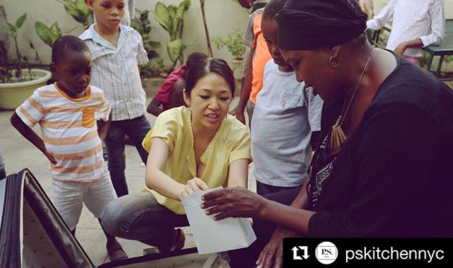 Our main character April never stops her mission!  #Repost @pskitchennyc with @get_repost ・・・ Our #womancrushwednesday everyday April Tam-Smith (co-founder of P.S. Kitchen) went to Haiti with Jeff LaPadula (our GM) to spend a few days serving along side one of our beneficiaries @shopsharehope! Each trip, (it's the 14th visit by our founder) never ceases to motivate and inspire us to continue pressing forward in our work here in New York City! #pskitchen #sharehopehaiti #plantsmakepeoplehappy #inspirationalpost #inspiredwomen #veganfoodshare #outreachteam #spreadlove #spreadhappiness #waybackwednesday #wednesdaymotivation #vegancommunity #plantbasedpower