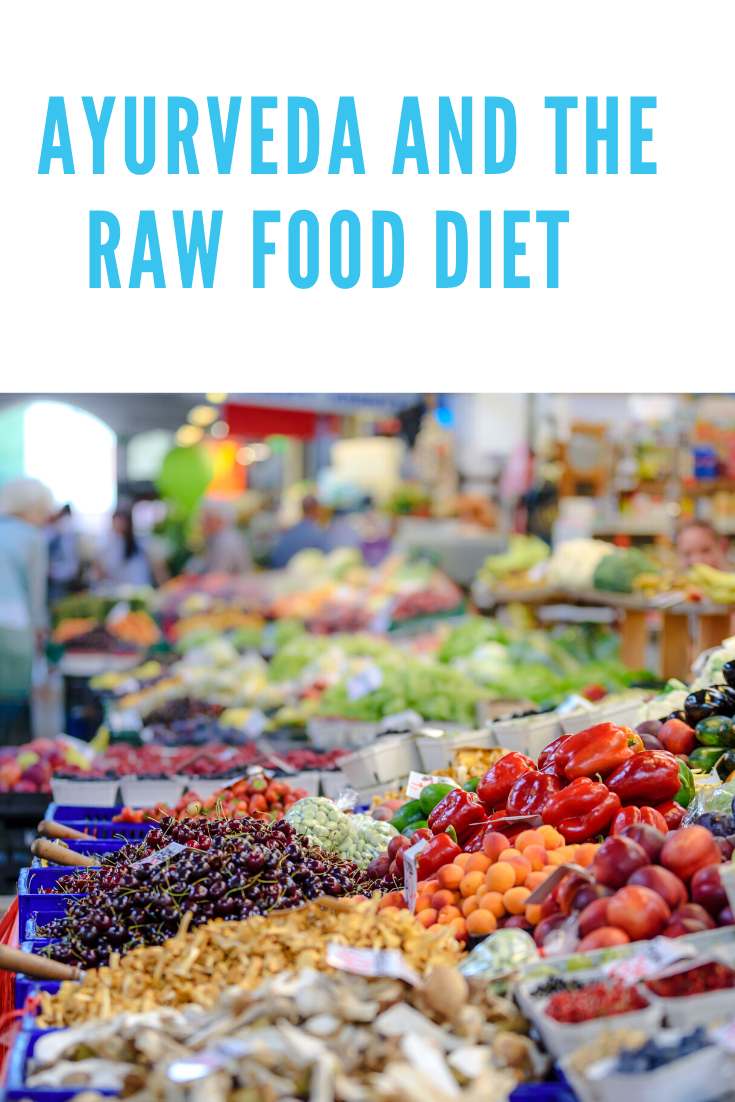 aureveda and a raw food diet