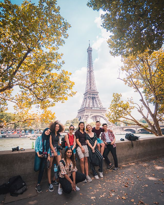 Our Paris dream team soaking up the sights before getting into gear to kick off our very first program in France 🇫🇷 // 📷 Photo by @briandaoo . . . . . . . . . #shotzdelight #discoverearth #createcommune #passionpassport #lensbible #artofvisuals #roamtheplanet #depthsofearth #visualsoflife #visualambassadors #discovererdrone #ourplanetdaily #globeshotz #globe_visuals #folkscenery #theimaged #droneoftheday #ig_today #gs10k #adorama #folkscenery #earth_shotz #exceptional_pictures #worldnomads #bravogreatphoto #fromwhereidrone #folksouls #tlpicks #wildernessnation