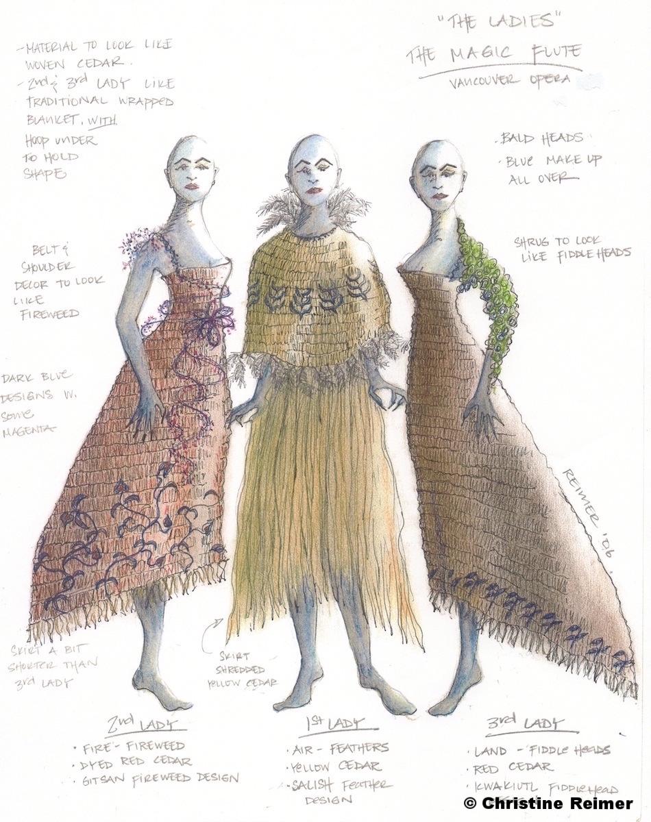 """""""Ladies of the Night""""  The Magic Flute, 2013"""