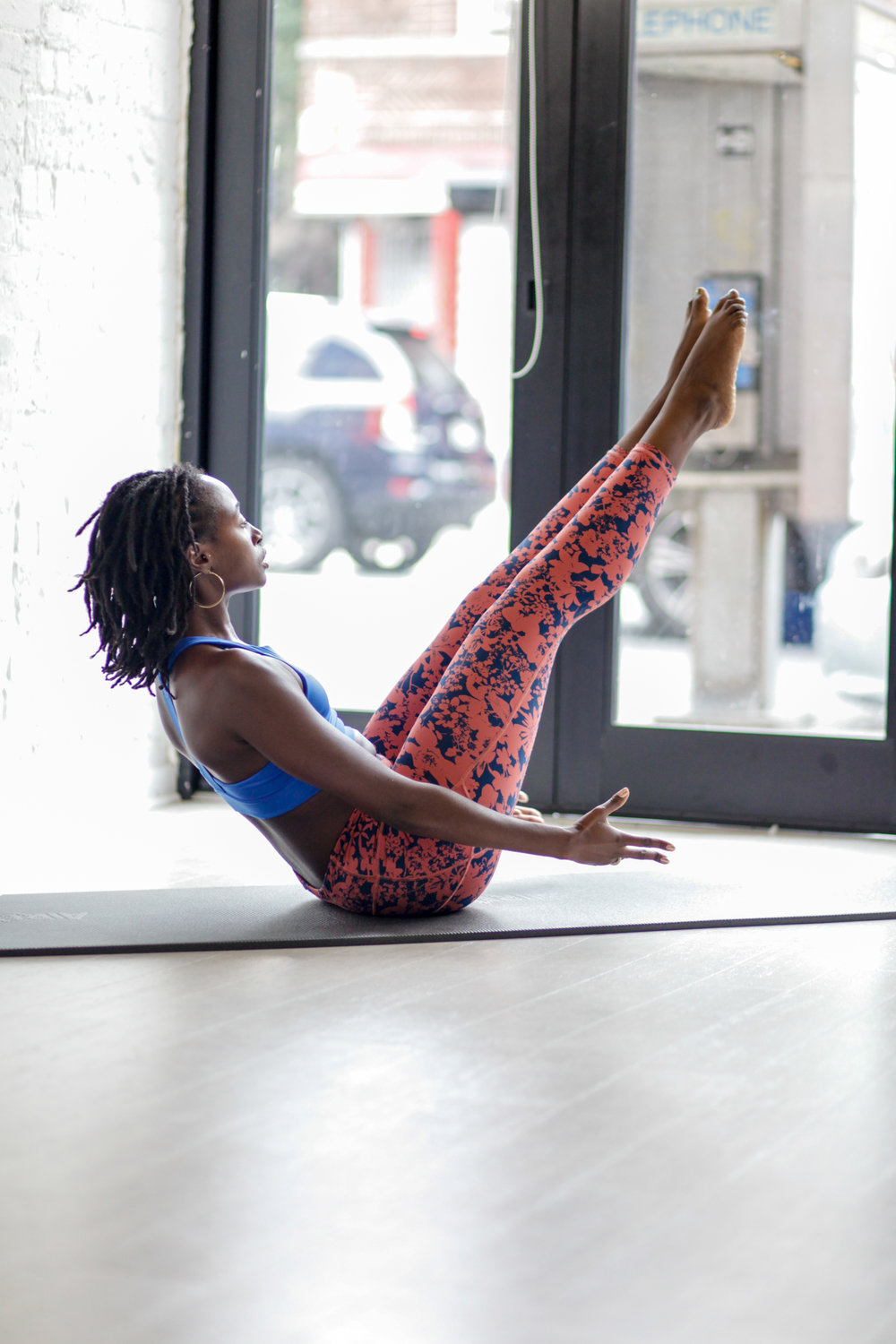 Pilates is for every body. - Pilates is a fitness system developed in the early 20th century by Joseph Pilates. If you are looking to strengthen and stabilize your core, tone and lengthen muscles, improve and maintain good posture, then Pilates is for you! It is low impact and can vary in intensity to support those rehabilitating from injuries or those wanting to improve their performance and overall body awareness for other functional everyday movement or other physical activities.You can choose between privates, duets, or group classes. It is recommended that you take at least three privates before jumping into a class to ensure that you understand the foundation of the system.*Pre and postal private and semi-private sessions are available.Pilates can help anyone move with ease and confidence. Classes and sessions have a strong classical foundation with a contemporary feel and functional twist, so expect to work hard, but with proper form!