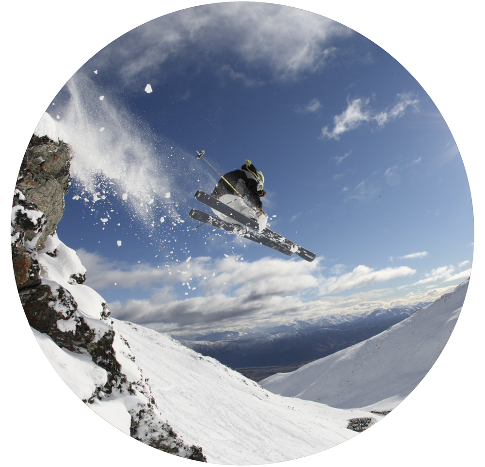 Shotover Round Image Queenstown Skiier.png