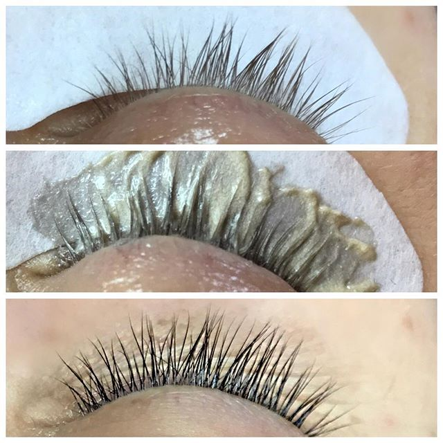 Lash tint process! Easy and painless way to get darker looking lashes 💃🏻💃🏻💃🏻