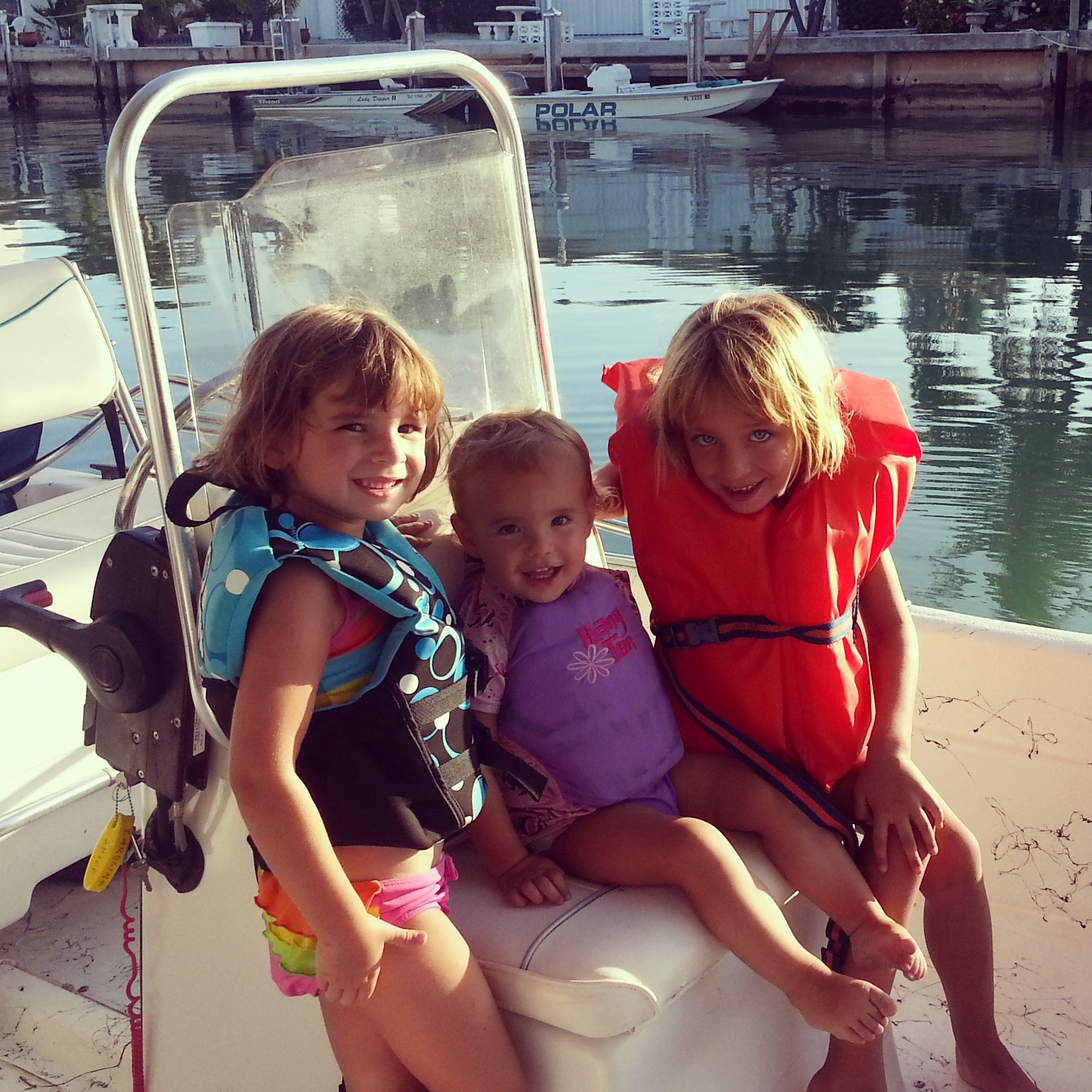 Selfie Sticks vs. Outdoors....a Mother's reflection on her daughters upbringing. Girls on the boat. https://reelcamogirl.wordpress.com/2015/01/29/selfie-sticks-vs-outdoors-a-mothers-reflection-on-her-daughters-upbringing/