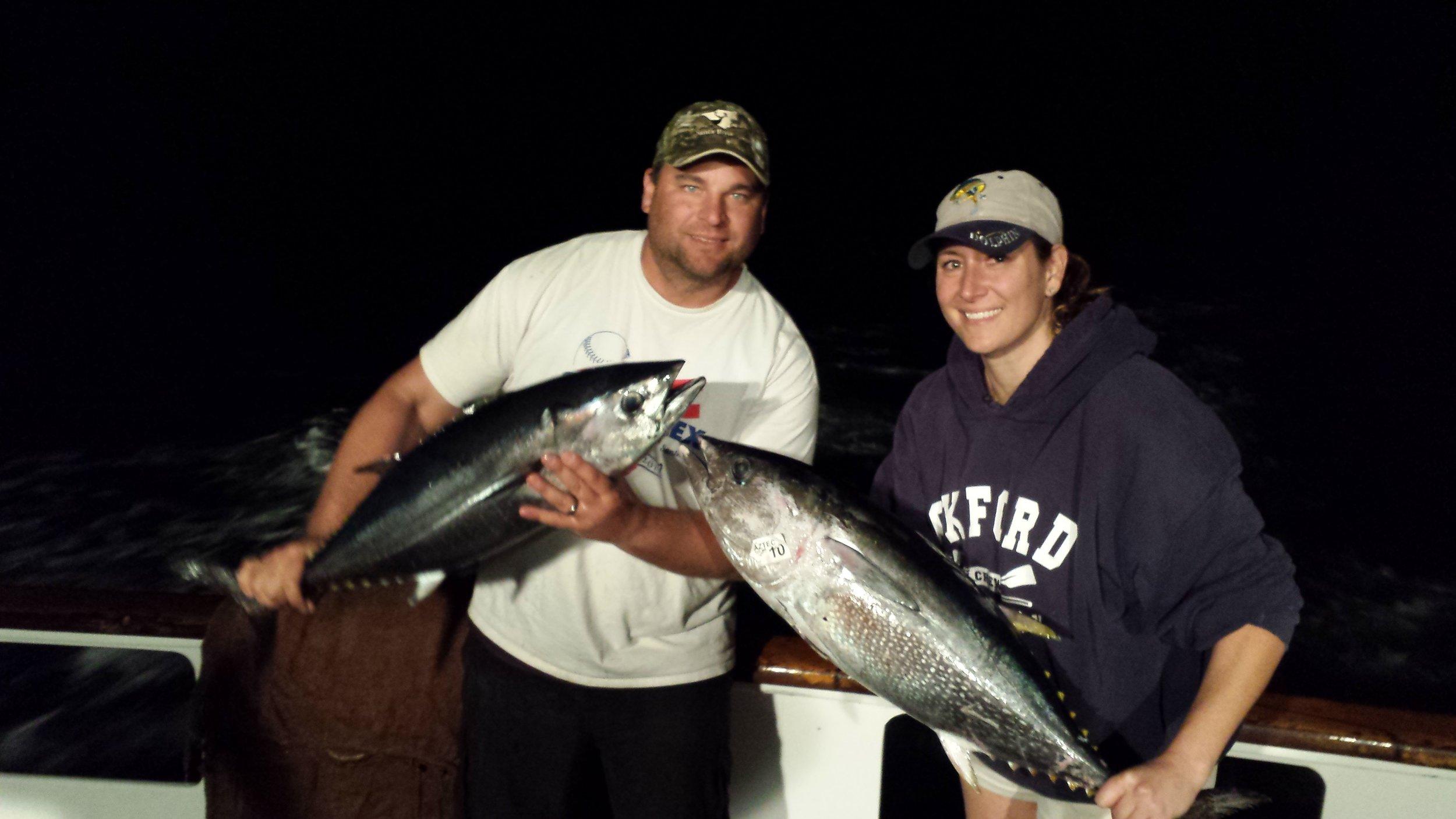 Valentine's Day date - Bluefin Tuna Fishing