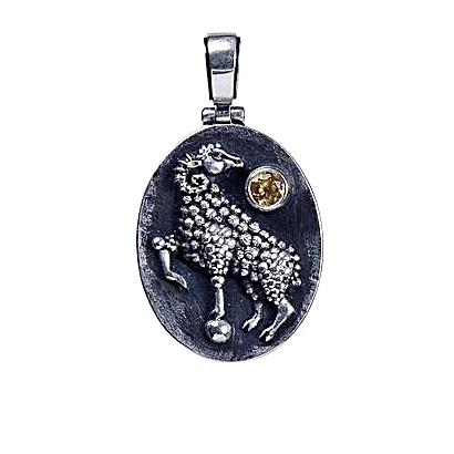 Aries pendant anastasia simes jewelry aries pendant aloadofball Choice Image