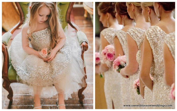 2. Neutral & Sparkle!  What more do we need to say???  We love our gold sparkle!