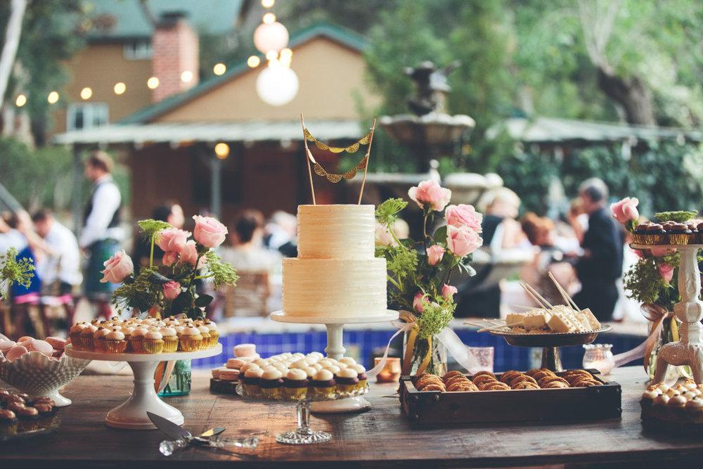 Bandy Canyon Ranch dessert table