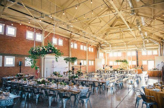 San Diegos Industrial Venue- Brick. Photo by: Walter Wilson Photography